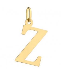 Zawieszka złota literka Z duża