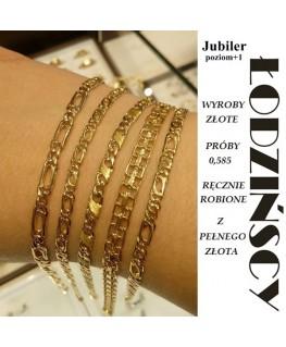 Biżuteria z pełnego złota 0,585- Łodzińscy Jubiler Kraków