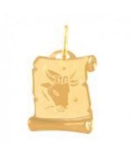 Zawieszka złota Byk